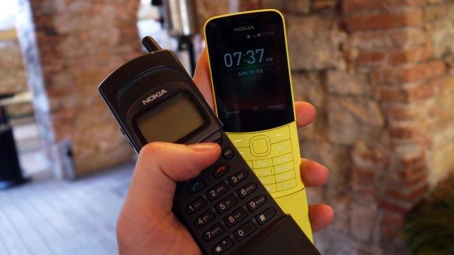 Yeni Nokia 8110 4G, Eski Nokia 8110 Karşısında!
