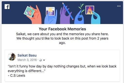 Kötü Facebook Anılarınızı Engelleyin
