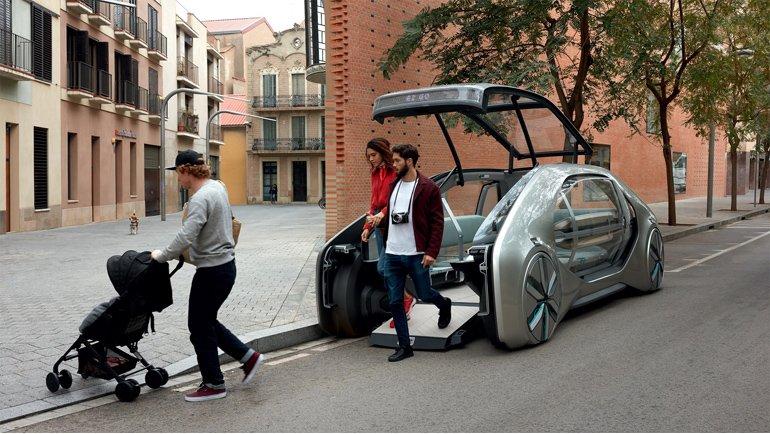 Renault, Ez-Go Konsept Modeli Tanıttı!