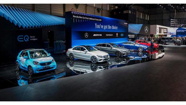 Mercedes-Benz, Cenevre'de En Yenilerini Tanıttı