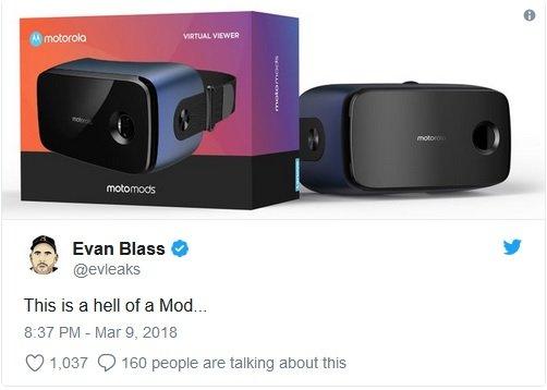 Motorola'dan Beklenen Moto Mod Geliyor!