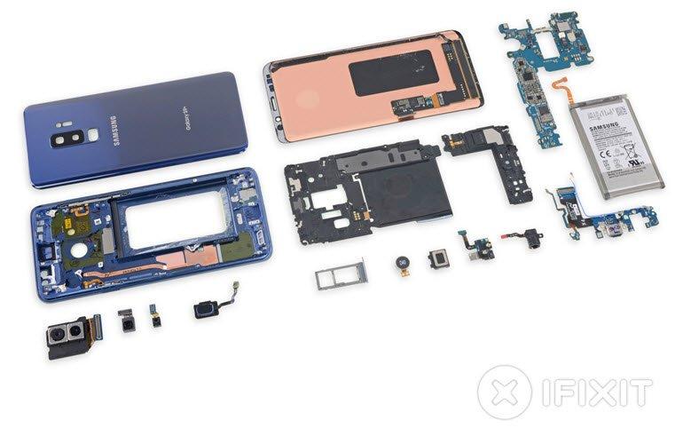 Galaxy S9+ da Paramparça Edildi