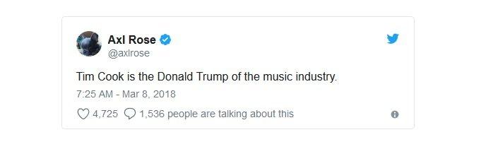 Tim Cook'a Donald Trump Yakıştırması!