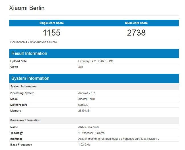 Gizemli Xiaomi Berlin ve Dipper Sızıyor!