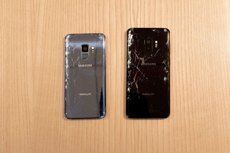 Galaxy S9 İlk Düşüşte Çatladı!