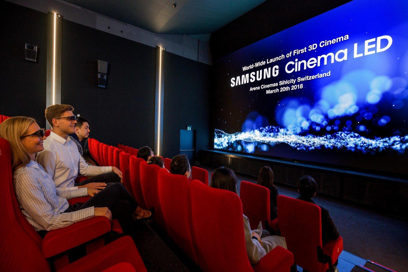 Samsung'dan Sinema Salonlarına Bir İlk Geliyor!