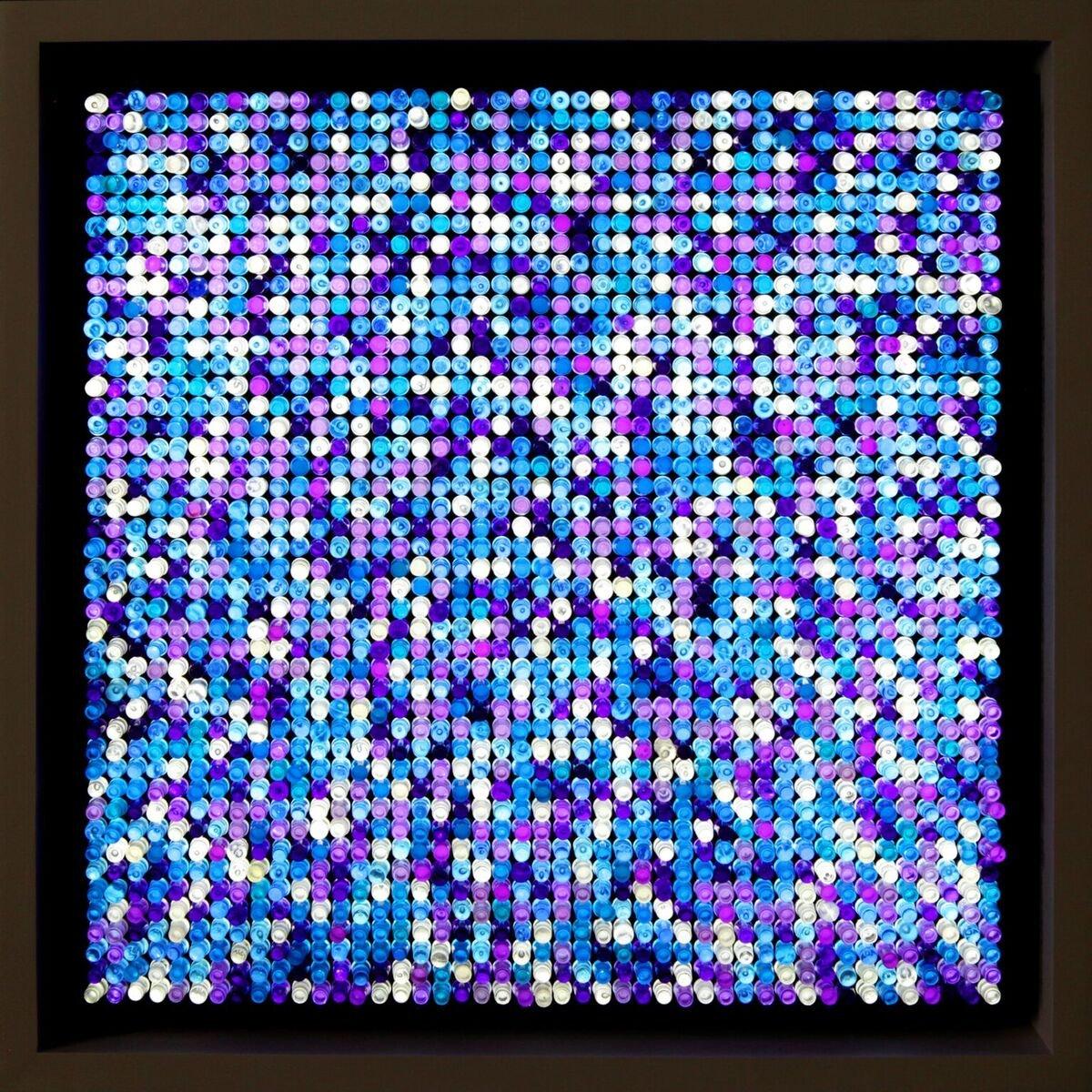 Sanatçı, Lego Tablosuna Bitcoin Cüzdanı Sakladı!