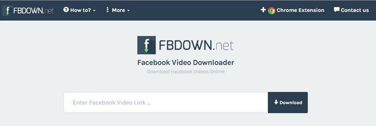 Facebook'tan PC'ye Video İndirme