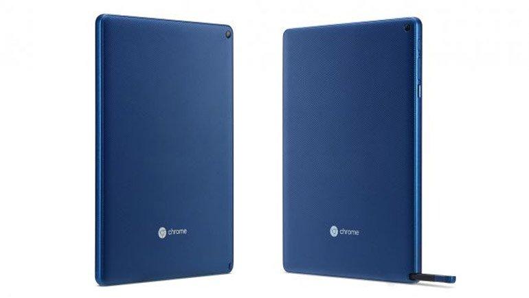 İşte İlk Klavyesiz Chrome OS Tablet