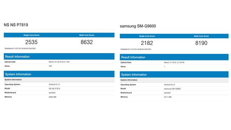 OnePlus 6, Galaxy S9'dan Daha Hızlı!