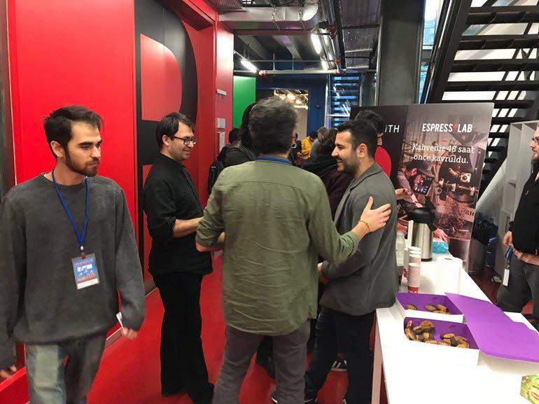 Oyun Geliştiricileri Bilgi Üniversitesi'ndeydi
