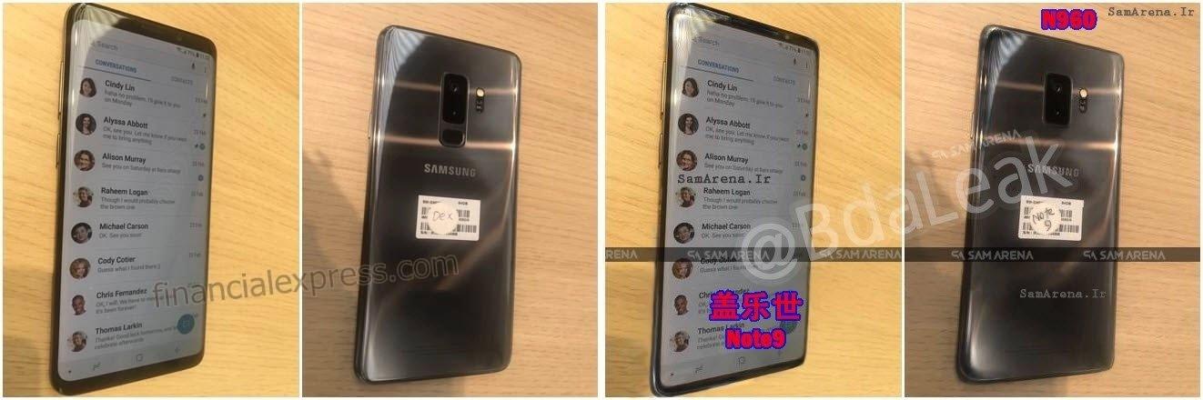 Sahte Çıkan Galaxy Note 9 Sızıntısı!