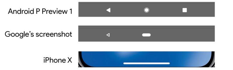 Android P'nin Gezinti Çubuğu Görüldü