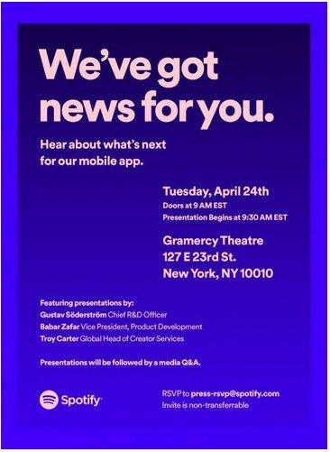 Spotify'ın etkinliği, mobil uygulaması hakkında