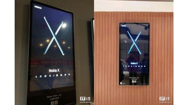 Nokia X Nisan Sonunda Geliyor