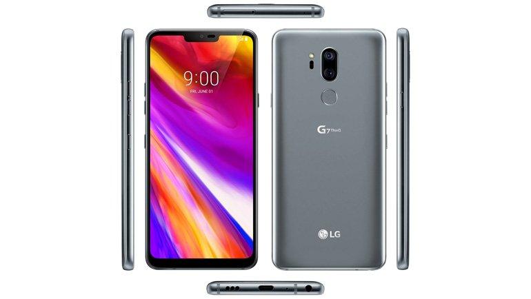 LG G7 ThinQ Her Açıdan Sızdı! İşte Fotoğrafları!