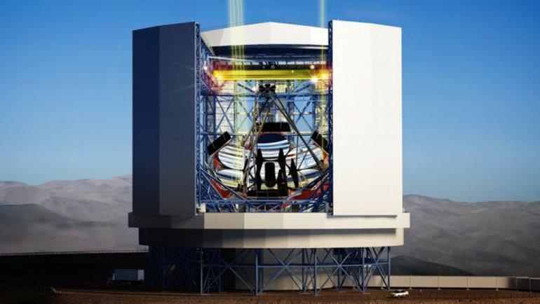 4 – Giant Magellan Telescope (GMT), Şili