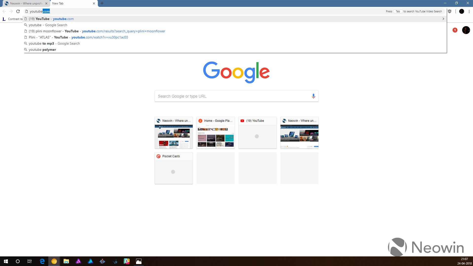 Chrome'un Tasarım Değişiklikleri Göründü!