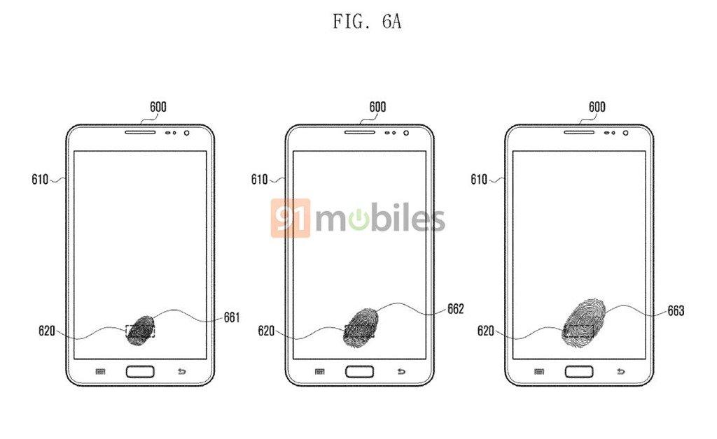 Samsung'dan Yeni Parmak İzi Patenti