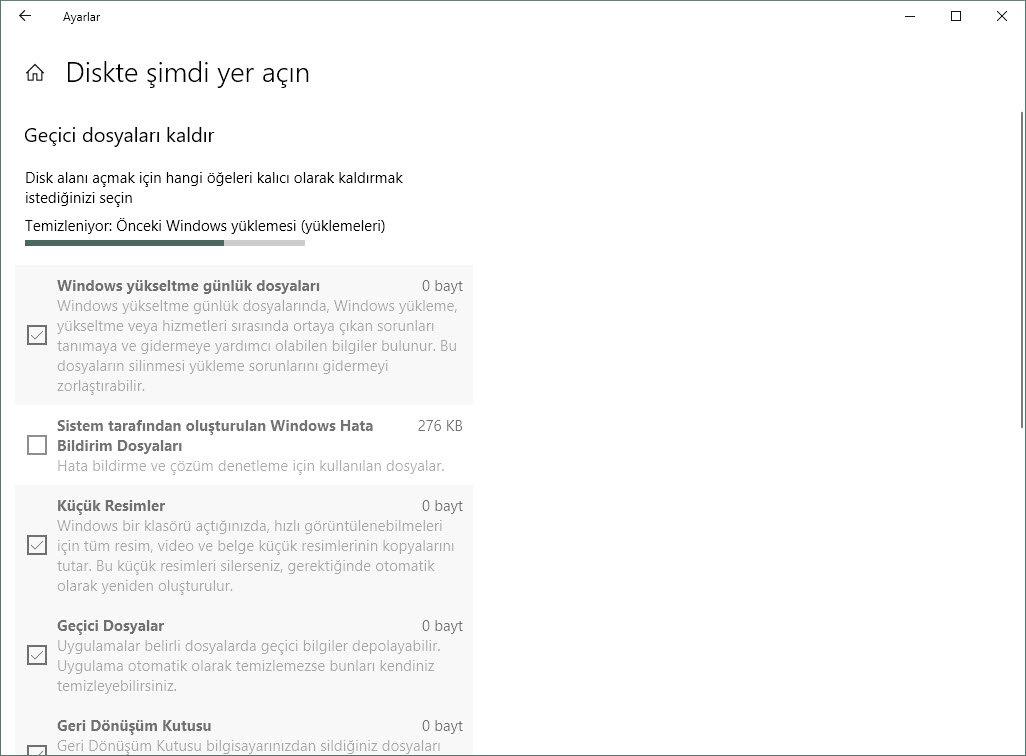 Windows'u Yeni Disk Temizleme Aracıyla Temizleyin!