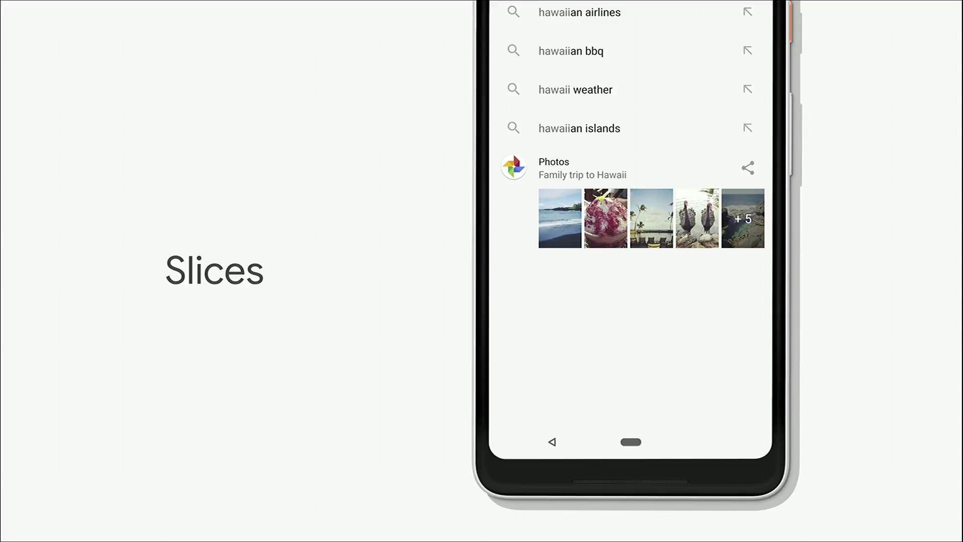 Android P Actions ve Slices Böyle Çalışacak!