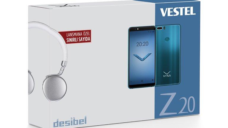 Venus Z20 teknik özellikleri