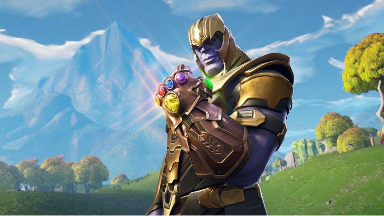 Epic Games ve Marvel, Thanos'u Fortnite'a Getirdi!