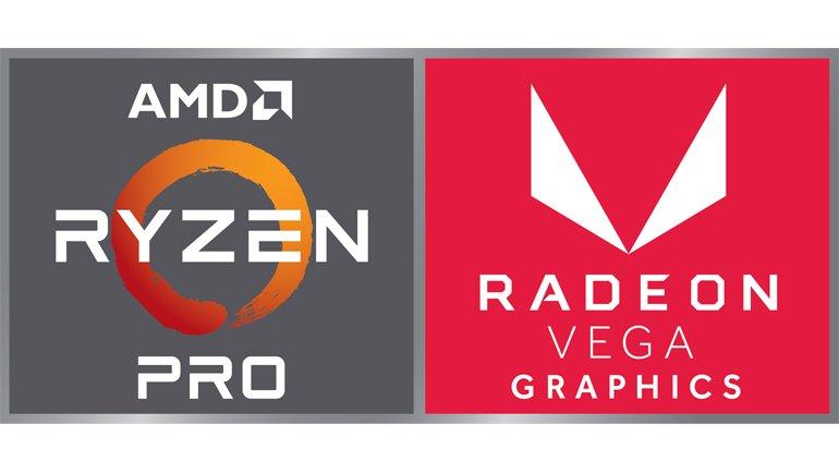 AMD'den Ryzen PRO Mobile ve Masaüstü APU'lu sistem