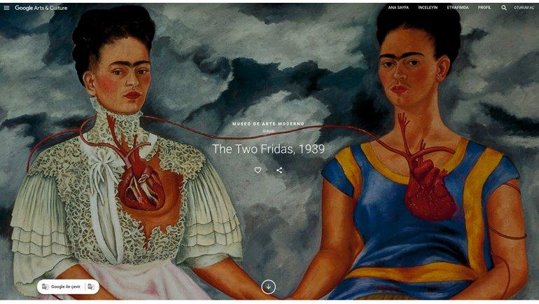 """""""Frida'nın Yüzleri"""" Ziyarete Açıldı!"""