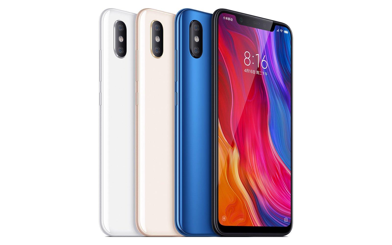 Yeni Xiaomi Mi 8, Saydam Gövdeyle Geldi