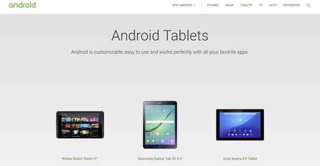 Google'ın Tablet Bölümü Bir Anlığına Kayboldu!