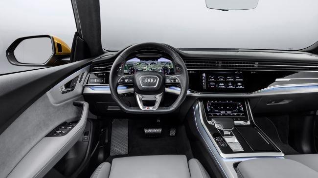 Coupé ve SUV'nin mükemmel buluşması: Yeni Audi Q8