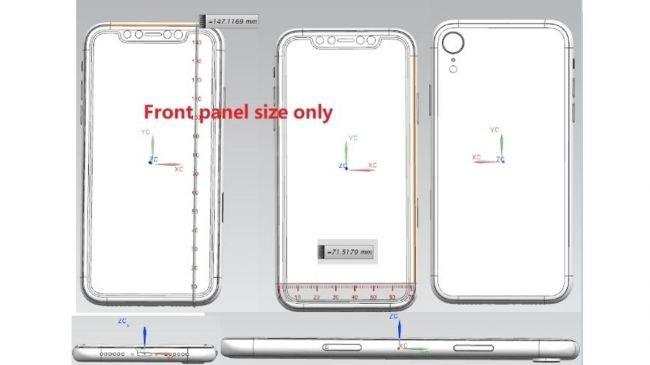 iPhone XI Plus ve iPhone 9 Çizimleri Sızdı