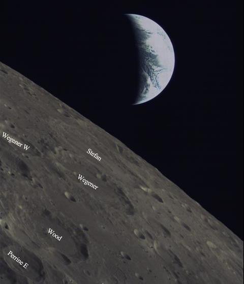 Çinli Ay Uydusu Dünya'yı Görüntüledi