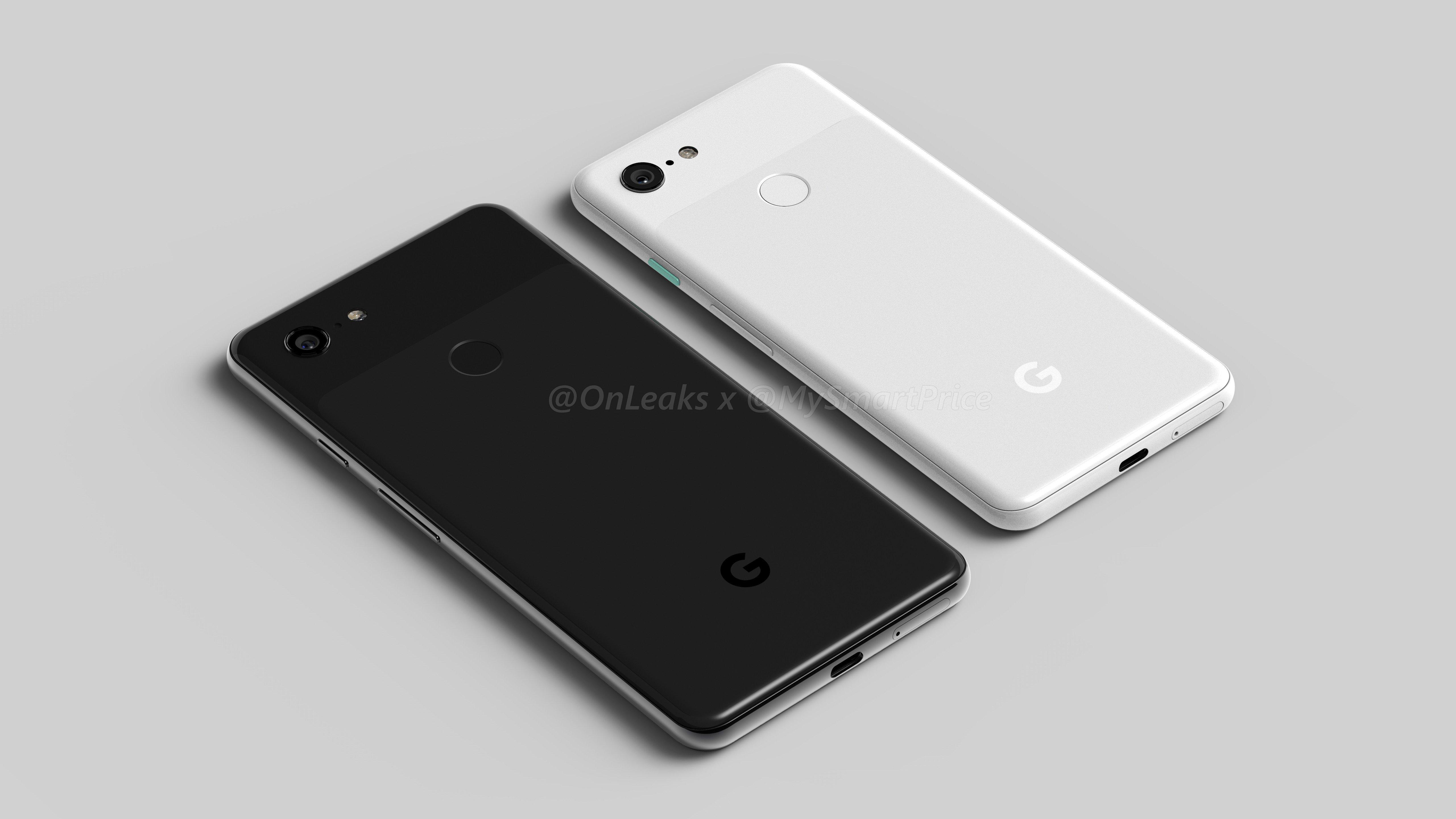 Çentiksiz Bir Google Pixel 3 ve Fazlası Sızdı!