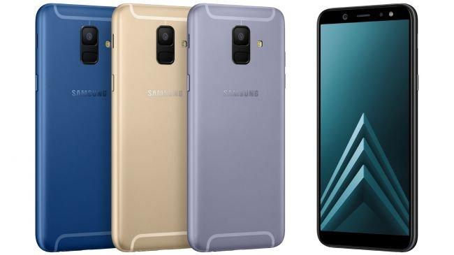 Galaxy S9'dan İlham Alan Galaxy A6 Tanıtıldı