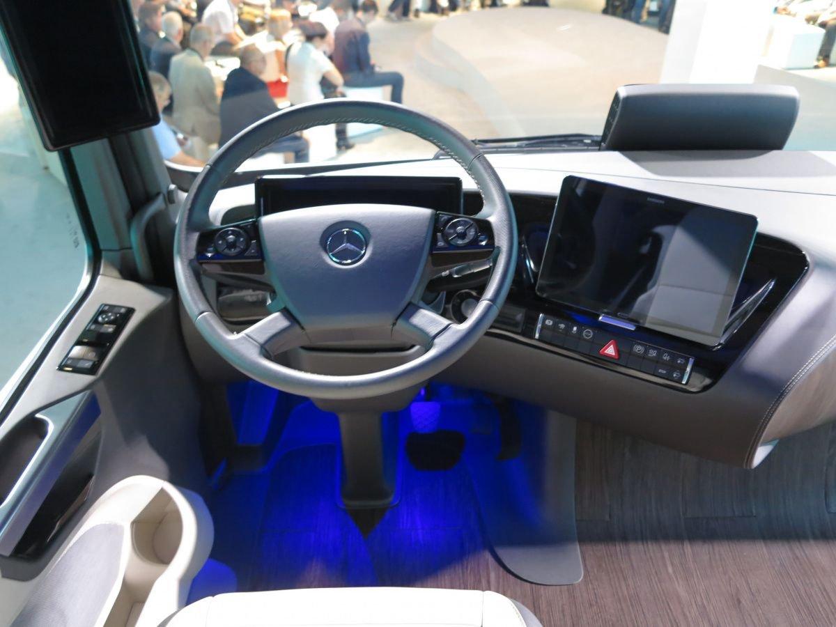 Kokpit tasarımı ve otonom sürüş