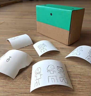 Yapay Zekalı Kamera Çocuk Çizimleri Yapıyor
