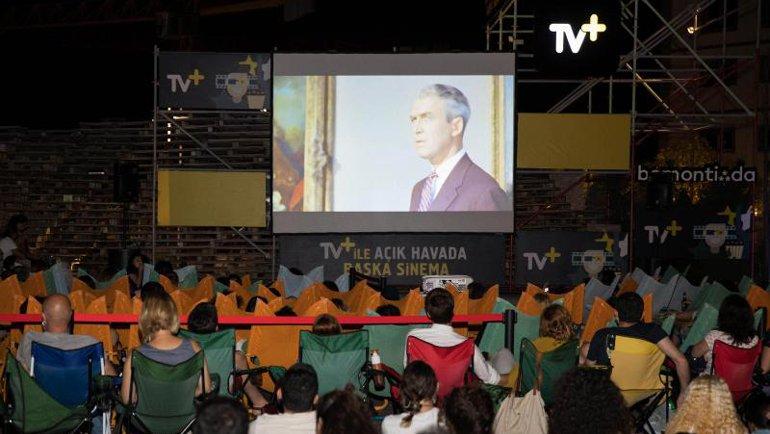 Bomontiada'da TV+ ile Açık Havada Başka Sinema