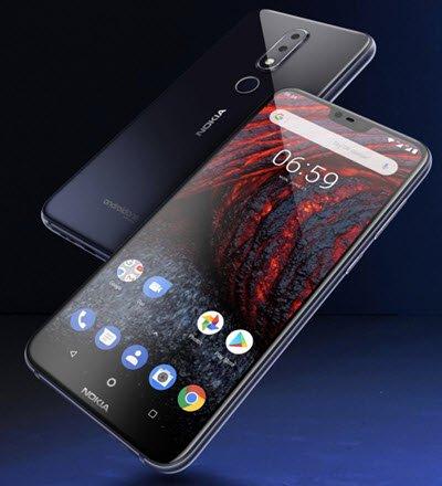 Nokia'dan Android One'lı Telefon: Nokia 6.1 Plus