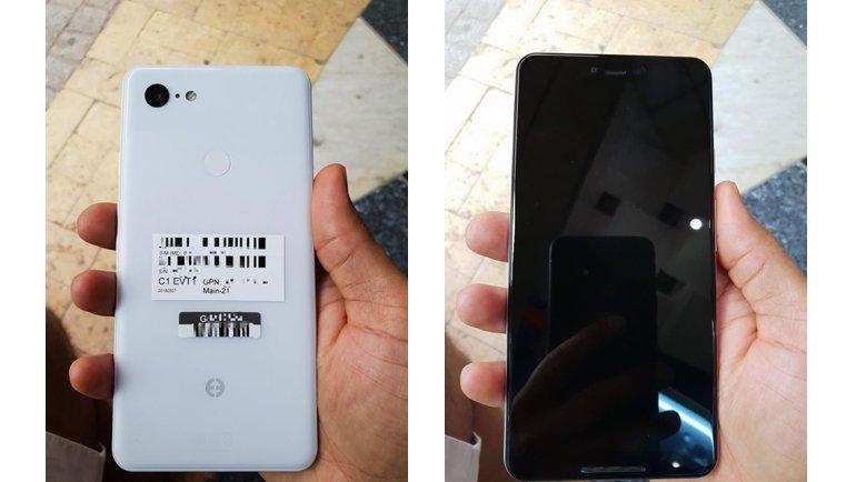 """Google Pixel 3 XL, """"pirüpak beyaz"""" modeliyle sızdı"""