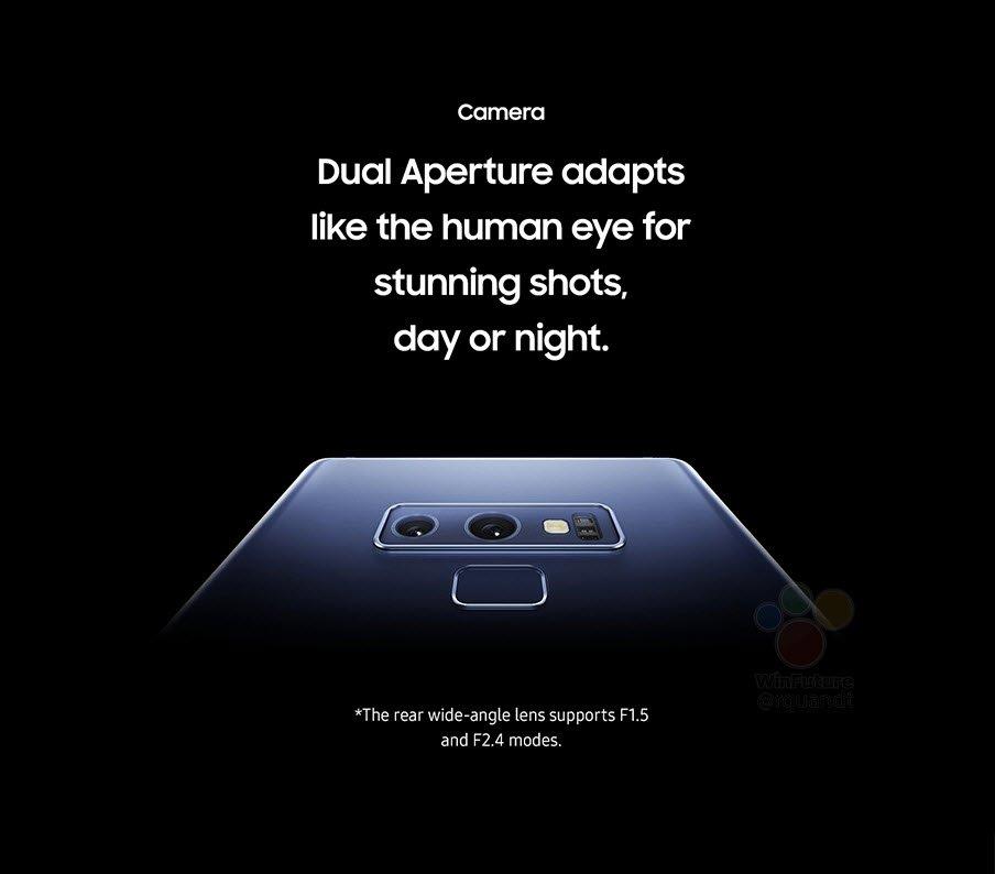 Galaxy Note 9'un Tanıtım Görüntüleri Sızdı!