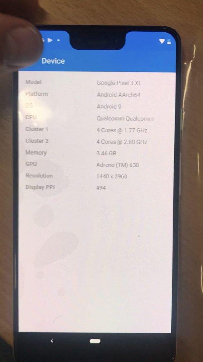 Google Pixel 3 XL Tamamen Sızdı!