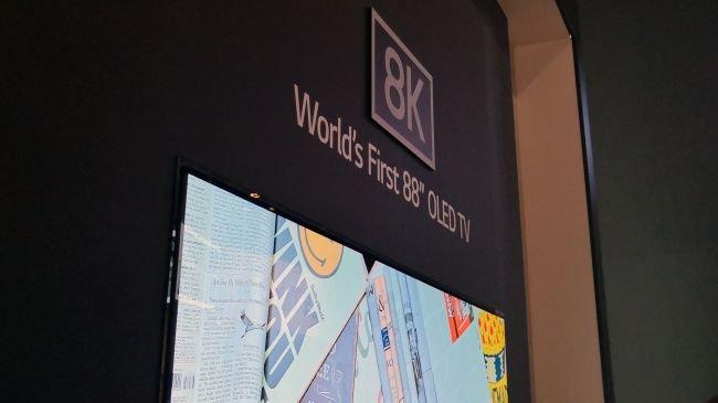 LG 8K OLED TV'ye İlk Bakış