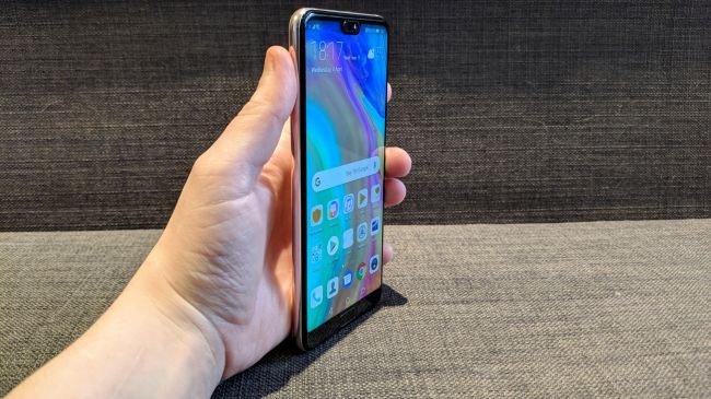 Huawei P20: Ekran