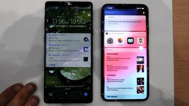 iPhone XS Max: Ekran