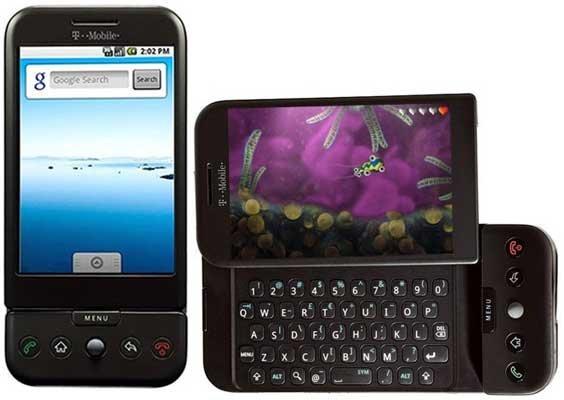 Android'li İlk Telefonu Hatırlıyor musunuz? İşte HTC Dream...