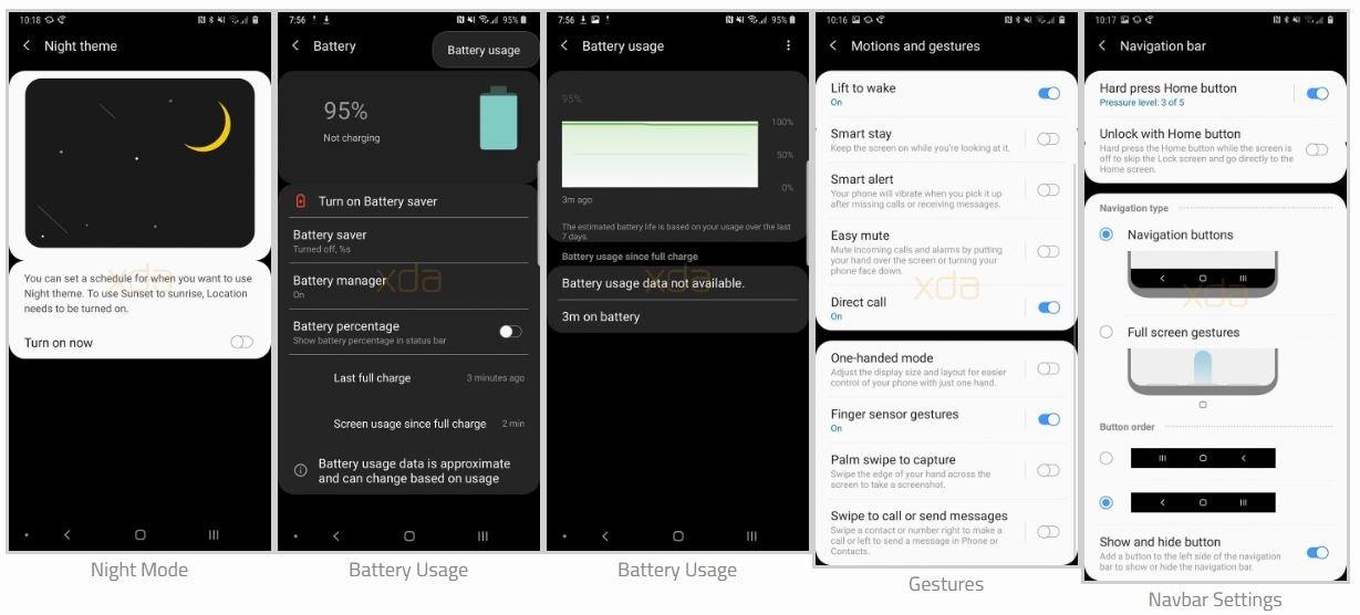 Galaxy Note 9'un Yenilenen Arayüzü Göründü!