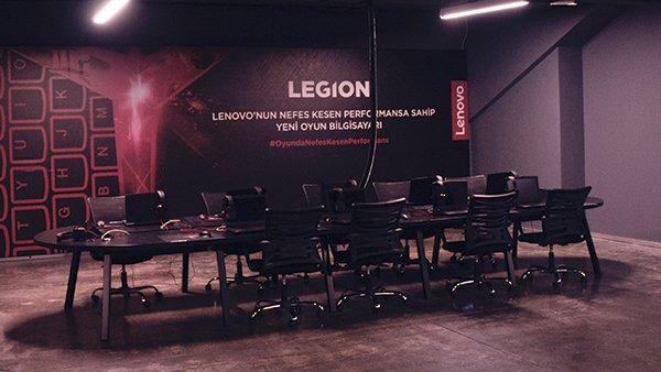 Lenovo Legion Y520'lerle donalı