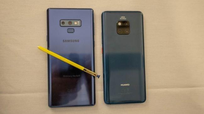 Tasarım: Huawei Mate 20 Pro ve Samsung Galaxy Note 9